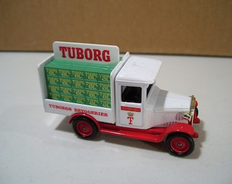 Vintage LLedo Days Gone By Tuborg Diecast Delivery Truck, England