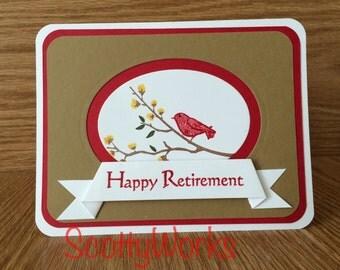 retirement card, happy retirement  B9-2