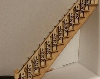 Arthur 1:12 Victorian Straight Staircase