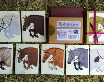 Equestrian Greeting Card: Gift Set of 8