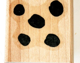 Five Dots Background Rubber Stamp retired from Stampin Up