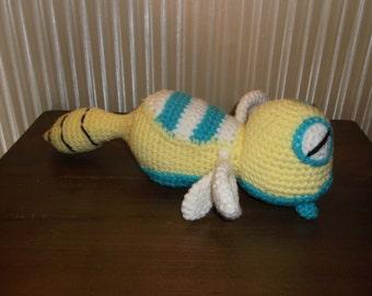 Dunsparce Pokemon Crochet Amigurumi