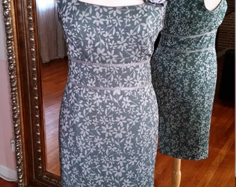 SALE CUSTOM-MADE Women's Floral Dress