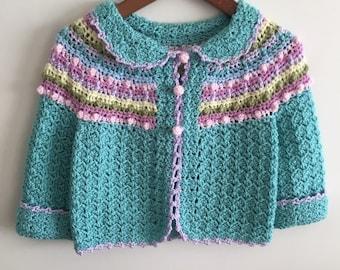 Little girls sweater size3/4.