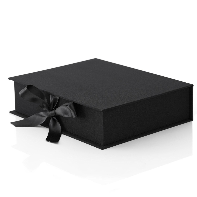 Black 11x14 Folio Box Only No Mats Incl Free Shipping