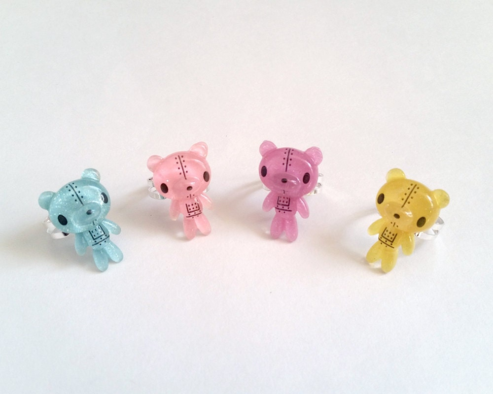 teddy adjustable ring pop kei ring pop kei jewelry