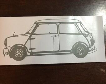 Classic Mini Cooper Vinyl