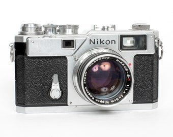 Nikon S3 with 50mm f/1.4 Nikkor S.C Lens