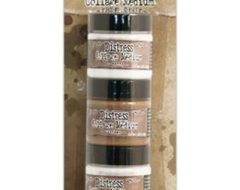 Tim Holtz Distress Collage Medim 3-Pack