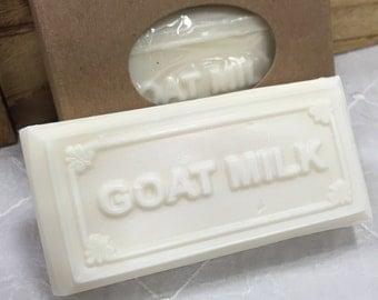 Oatmeal Honey Goat Milk Bar Soap
