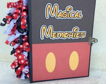 The Mouse - Magical Memories premade scrapbook photo album