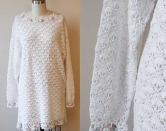 1980s Jessie sweater // floral sweater // vintage sweater