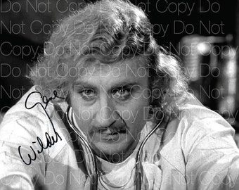 Young Frankenstein poster Gene Wilder 8X10 photo picture signed autograph RP 3