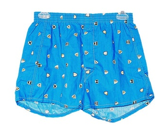Boxer Shorts Men's Size Small Abstract Boxers, Retro Boxer Shorts Vintage Print Boxers Men's Boxers Men's Boxer Shorts Men's Underwear