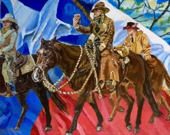 Horses / Riding Down Main