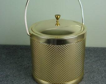 Gold Italian Ice Bucket