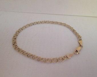 Gold Link Bracelet 14K Gold