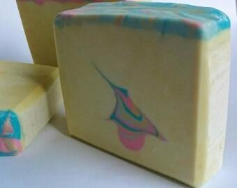 Japanese cherry blossom castile artisan soap