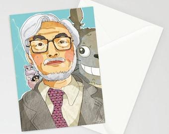 Miyazaki A6 card