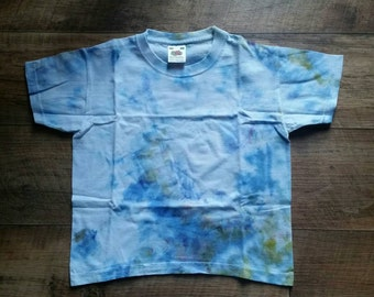 Ice tye dye 3-4 years tshirt