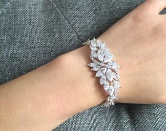 Elegant Bridal Wedding Cubic Zirconia Jewelry Set