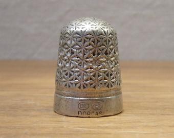 Antique 1900s Charles Horner Dorcas thimble size 5