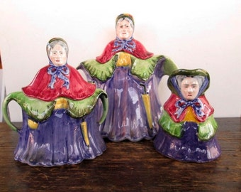 Sale Made in England Little Old Lady Tea Set