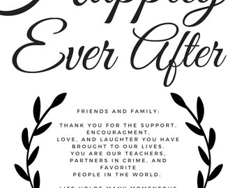 Happily Ever After Thank You Download