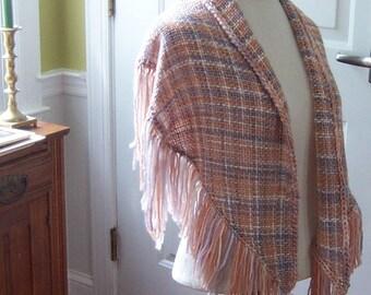 Hand-woven Soft Rectangular Shawl