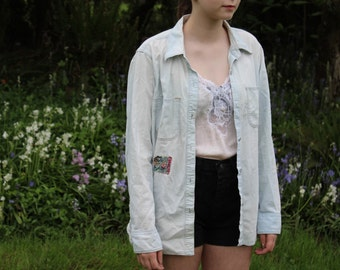 Madewell Distressed Chambray Shirt