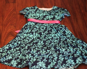 Tasteful Tiers Dress: YOU PICK from 50 FABRICS Girls Long Four Tiered Custom Modest Dress {size 6 months- 14 years}