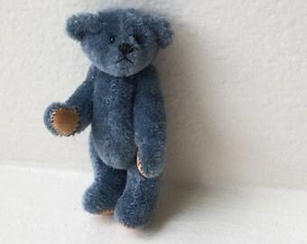 Little Gems Blue Teddy Bear (JL)