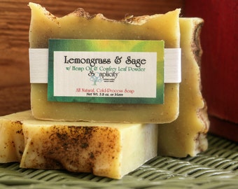 Lemongrass & Sage Soap