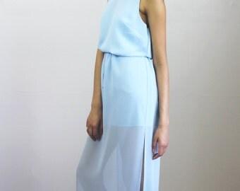 Sandy side slit dress