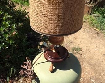 Nautical or western? theme lamp