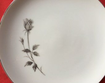 Royal Monaco Rose Fine China Dinner Plates By Royal Monaco