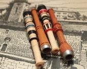 Bosnian VisokoPipes Medium Lula Cibuk Handmade Wooden Smoking Pipe Cigarette / Clip Holder