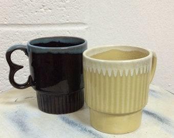 Set of Small Coffee Mugs