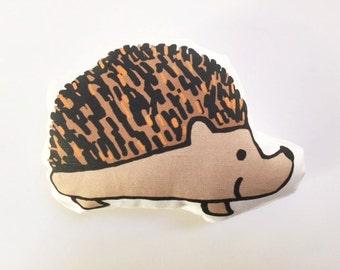 Hedgehog Plushie, Hedgehog Pillow