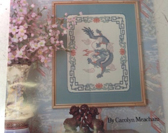 Cross stitch pattern Imperial Dragon