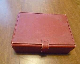 Vintage Sewing Box with Threads