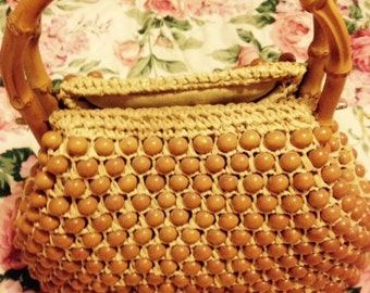 Vintage JANA Beaded Purse