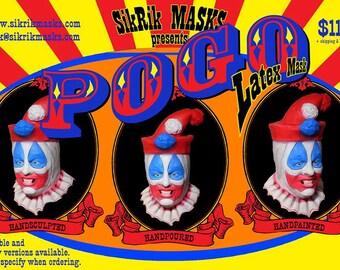 POGO the Clown latex mask