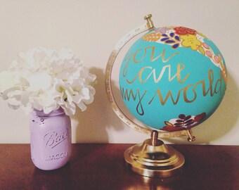 Customizable Globe