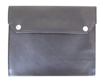 Freemasons Masonic Lodge Certificate wallet in FAUX Leather in Plain Black BCW102
