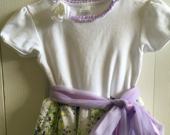 T-shirt dress - girls size 4