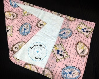 """Travel Changing Pad with pockets 18"""" x 26"""" _ANY FABRIC"""