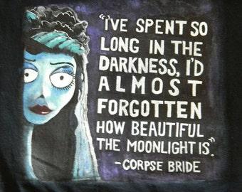 Hand Painted Corpse Brider Shirt