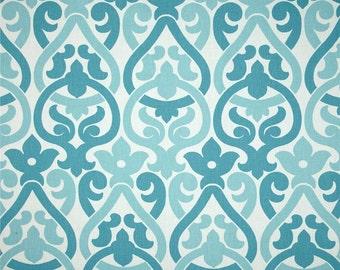 One and One Half Yard - Alex Coastal Blue Premier Prints Fabric - Home Dec Fabric