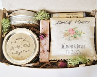 Maid of Honour Gift Set - Custom Maid of Honor, Wedding Party Gift - Gift for Maid of Honour, Matron of Honour